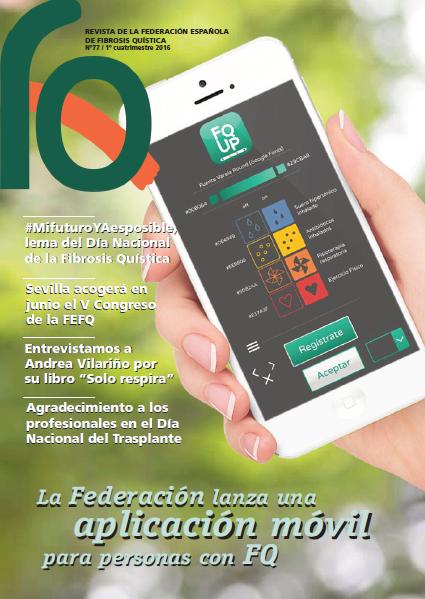 Ya podéis leer on-line el número 77 de nuestra Revista FQ  En breve la recibiréis en vuestros domicilios.