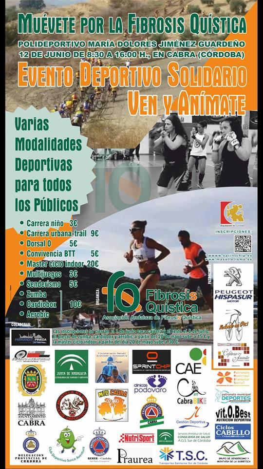 Evento Deportivo 'Muévete por la Fibrosis Quística'