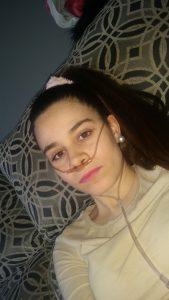 Inma Pozeiro, en lista de espera para trasplante. Fecha de nac; Noviembre del 1994