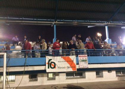 Buena asistencia de público en el  III Trofeo de Veteranos a beneficio de la AAFQ