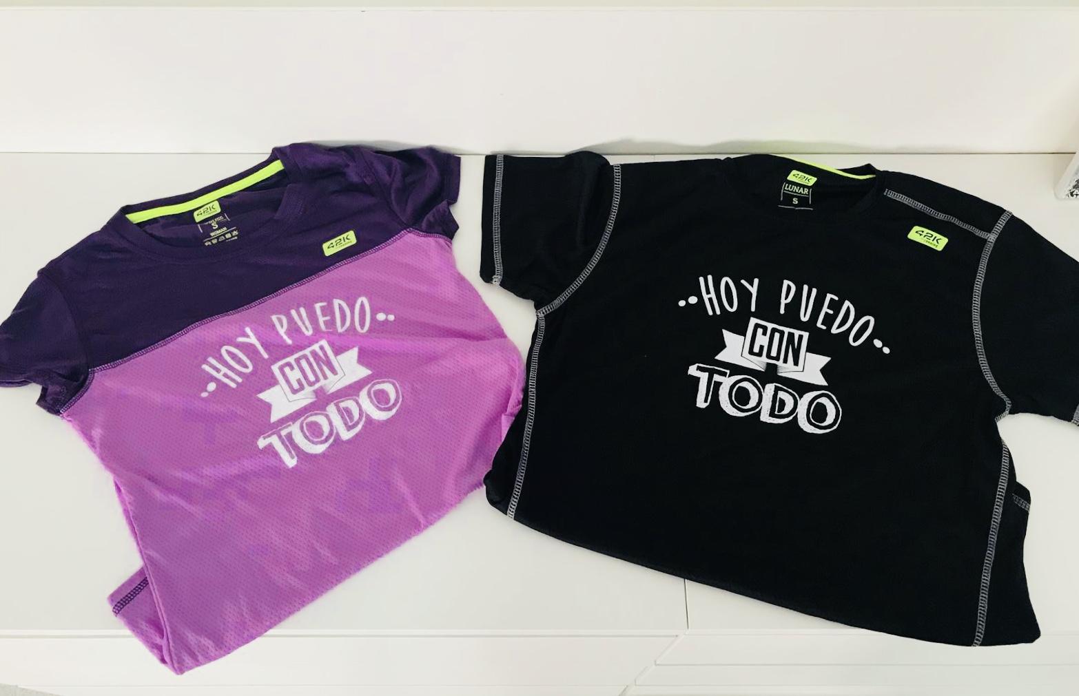 Nuevos Colores y Diseños de Nuestras Camisetas Deportivas Solidarias
