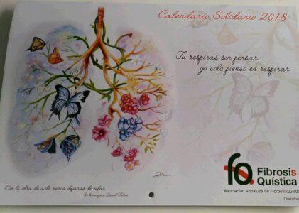 Calendario Solidario 2018 de la AAFQ. Dedicado a la importancia del Deporte.
