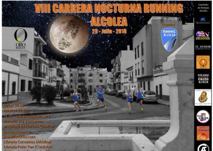 VIII CARRERA NOCTURNA DE ALCOLEA