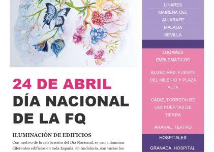 Día Nacional de Fibrosis Quística, 24 Abril (4º miércoles de Abril)