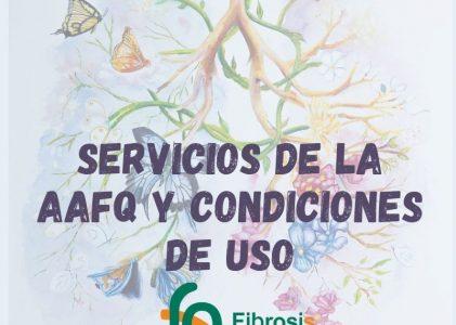 Servicios de la Asociación y Condiciones de uso