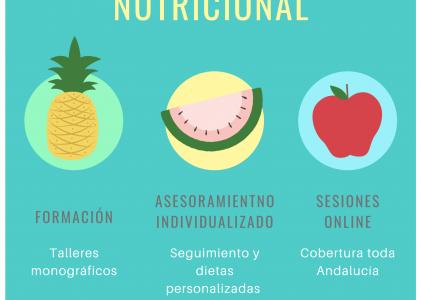 Nuevo servicio de Asesoramiento Nutricional personalizado en la Asociación