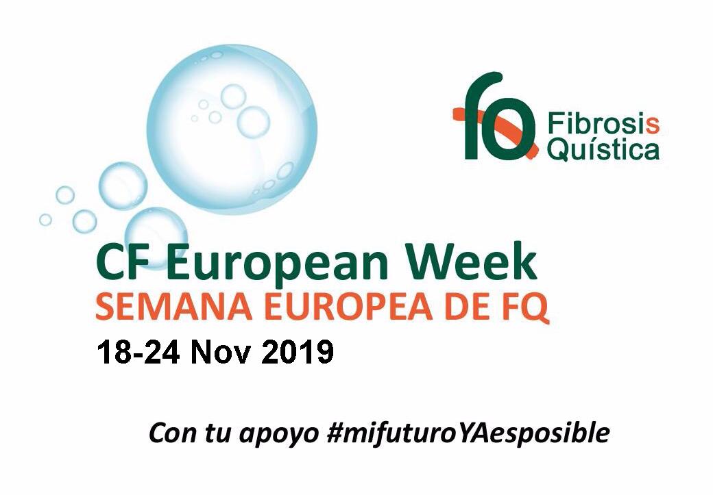 SEMANA EUROPEA DE LA FIBROSIS QUÍSTICA (18-24 NOVIEMBRE 2019)