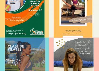 MARATÓN DE ACTIVIDADES DEPORTIVAS ONLINE PARA CELEBRAR EL DÍA NACIONAL DE LA FQ 2021